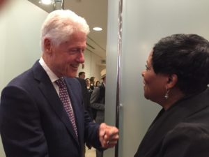 Clinton and Denise